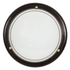 Lampa Sufitowa Candellux 1030 13-71104 Plafon Drewno Standard 1X60W E27 Wenge