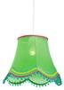 LAMPA SUFITOWA WISZĄCA CANDELLUX ARLEKIN 31-94516   E27 ZIELONY