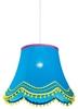 LAMPA SUFITOWA WISZĄCA CANDELLUX ARLEKIN 31-94523   E27 NIEBIESKI