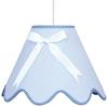 LAMPA SUFITOWA WISZĄCA CANDELLUX LOLA 31-04666  E27 NIEBIESKI