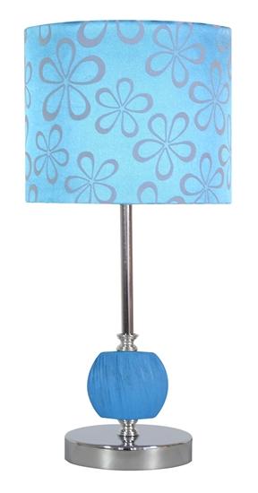 Lampa Stołowa Gabinetowa Candellux Cort 41-34625 E27 Niebieski
