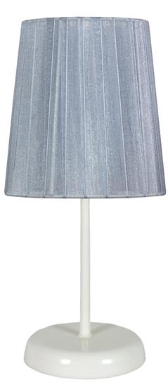 Lampa Stołowa Gabinetowa Candellux Rifasa 41-40862 E14 Szara