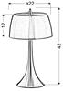 Lampa Stołowa Gabinetowa Candellux Oxford 41-25203 E14 Fioletowy / Dotykowa/