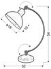 Lampa Stołowa Gabinetowa Candellux Old 41-27979 E27 Czarny