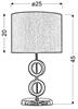 Lampa Stołowa Gabinetowa Candellux Anello 41-01108 E27 H-43 Beżowa