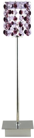 Lampa Stołowa Gabinetowa Candellux Classic 41-97036 G9 Burgund