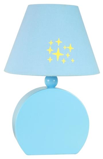 Lampa Stołowa Gabinetowa Candellux Ofelia 41-62461 Mdf E14 Niebieska