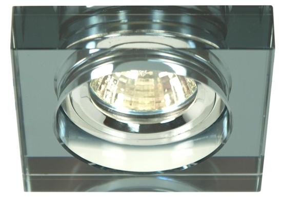 Oprawa stropowa kwadratowa czarna MR16 oczko SS-16 Candellux 2244351