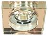 Oprawa stropowa kwadrat brązowa MR16 oczko SS-16 Candellux 2244375
