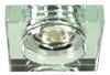 Oprawa stropowa kwadrat bezbarwna MR16 oczko SS-16 Candellux 2244368