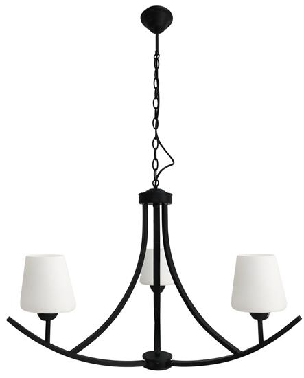 LAMPA SUFITOWA WISZĄCA CANDELLUX LONDYN 33-38708 CZARNY