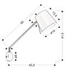 Kinkiet czarny matowy lampa ścienna Killy Candellux 21-73914