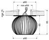 Oprawa Stropowa Biały Koszyk Candellux Sk-93 2268743