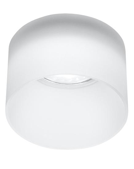 Oprawa stropowa mrożony akryl tuba oczko GU10 50W Candellux 2273679