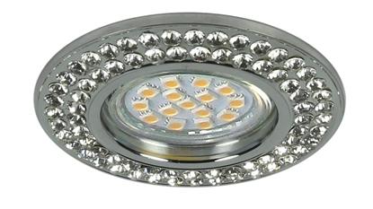Oprawa stropowa okrągła szklana oczko GU10 SOC-02 Candellux 2251035