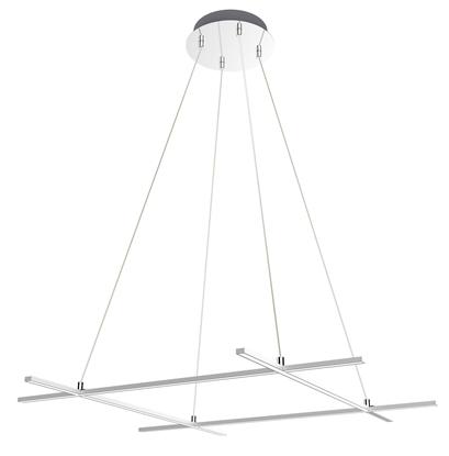 ANDROS LAMPA WISZĄCA 70X70 40W LED SREBRNY 4000K APETI