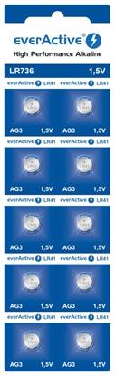10 x bateria alkaliczna mini everActive AG3 G3 LR736 LR41