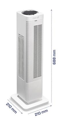 CA-904 W OGRZEWACZ I WENTYLATOR POWIETRZA 2 W 1 WHITE CLEAN AIR OPTIMA