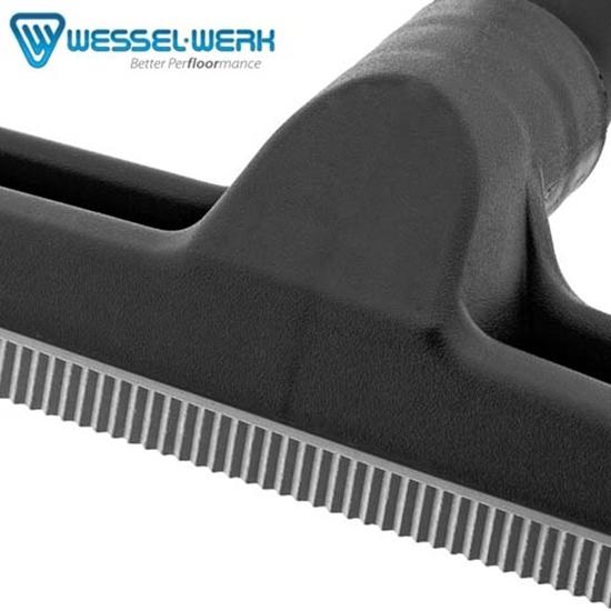 Szczotka podłogowa z gumowymi listwami Wessel Werk D300R 38mm
