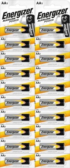 20 x bateria alkaliczna Energizer Alkaline Power LR6/AA (blister)