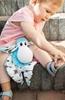 Mom's Care Sensoryczna przytulanka Sheepi Niebieska gryzak szmatka 0+