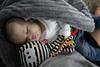 Mom's Care Ośmiornica dla niemowlaka Biało-Czarna przytulanka przywieszka