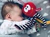 Mom's Care Ośmiornica dla niemowlaka Czerwona przytulanka przywieszka