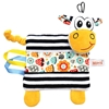 Mom's Care Sensoryczny Szmatka Zebra przytulanka 0+