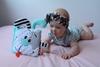 Mom's Care Sensoryczna Książeczka Minty miękka materiałowa