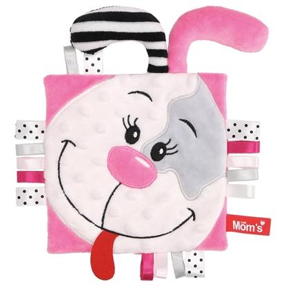 Mom's Care Sensoryczny Szeleścik Pinky metki
