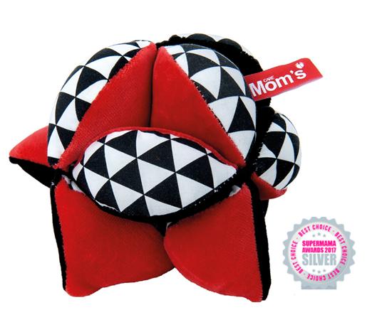 Mom's Care Takane Sensoryczna kontrastowa piłka Montessori 0+