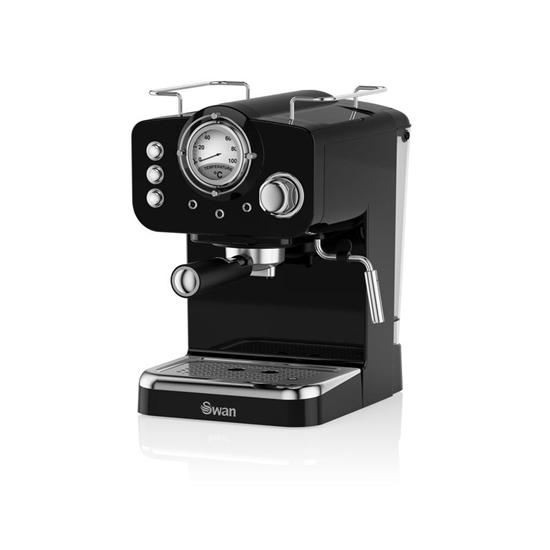 EKSPRES CIŚNIENIOWY Pump Espresso Coffee BLACK