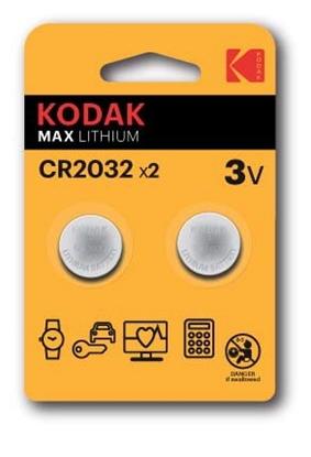 A.KODAK BATERIA KCR2032 Blister2