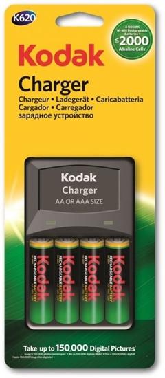 ŁADOWARKA KODAK K620E-C + 4xR6 2100mAh KODAK