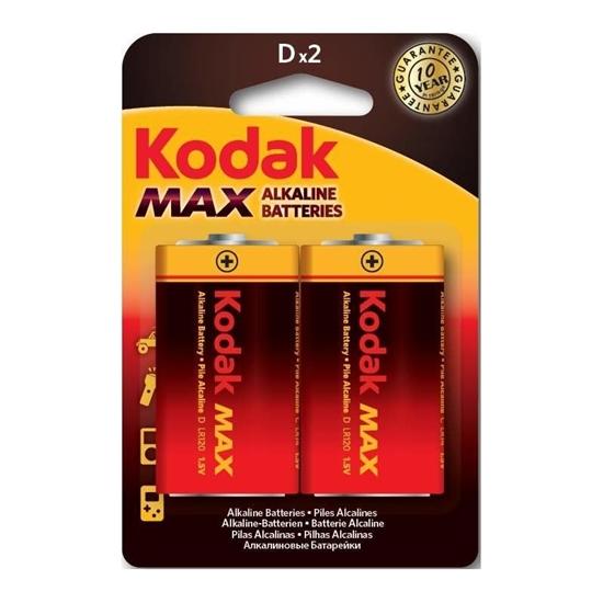 A.KODAK BATERIA LR20 MAX KD-2 BL2