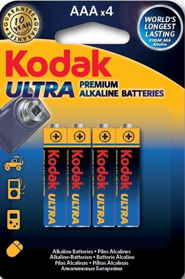 A.KODAK BATERIA LR03 ULTRA  PREMIUM K3A-4 BL.4