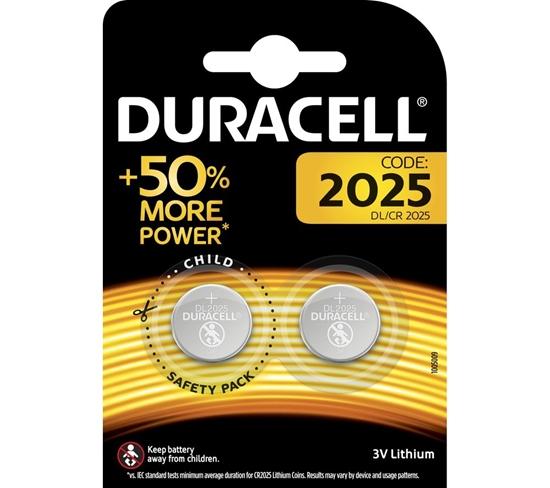 DURACELL BATERIA DL 2025 3V BL2