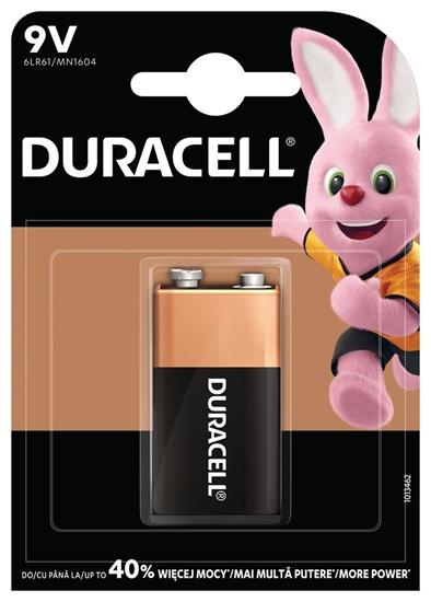 DURACELL BATERIA 6LR61 9V BASIC K1