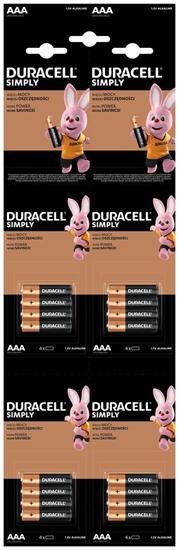 DURACELL BATERIA LR03 SIMPLY 4xK4
