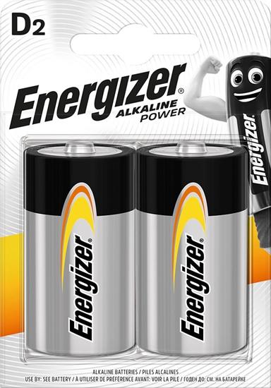 ENERGIZER BATERIA  ALKALINE POWER D R20/bl2