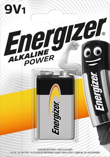 ENERGIZER BATERIA  ALKALINE POWER 9V 6LR61/bl1