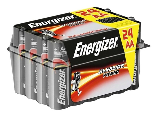 ENERGIZER BATERIA  ALKALINE POWER AA LR6/24