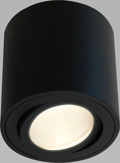 Oprawa OZZO ADA1 212-B/B natynkowa czarna wys.8cm