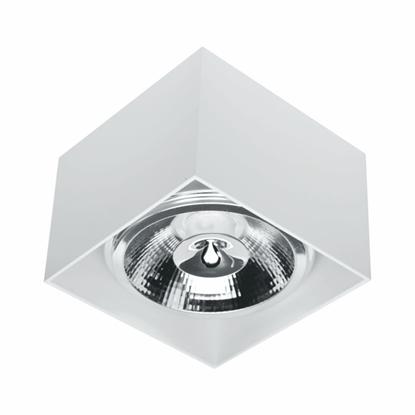 Oprawa OZZO n/t Axel111S-WH AR111 GU10 kwadratowa biała