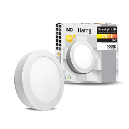 OPRAWA LED n/t DOWNLIGHT HARRY okrągła 24W 1700lm  840 IP20 INQ