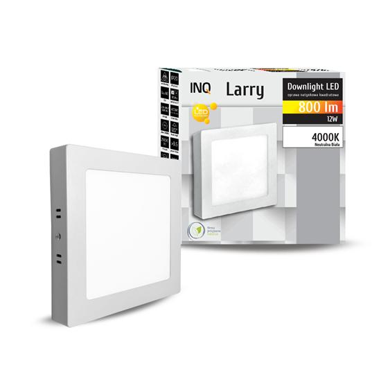 OPRAWA LED n/t DOWNLIGHT LARRY kwadrat 12W 800lm 840 IP20 INQ