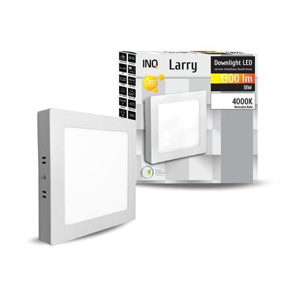 OPRAWA LED n/t DOWNLIGHT LARRY kwadrat 18W 1300lm 840 IP20 INQ