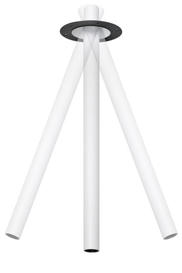 Oprawa Erin3508 podtynkowa tubka biała