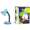 Lampka E27 SOFI niebieska