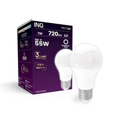 LAMPA  A60 E27 LED PROFI  7 BULB 720lm 4000K INQ